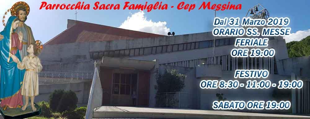 Parrocchia Sacra Famiglia – CEP MESSINA
