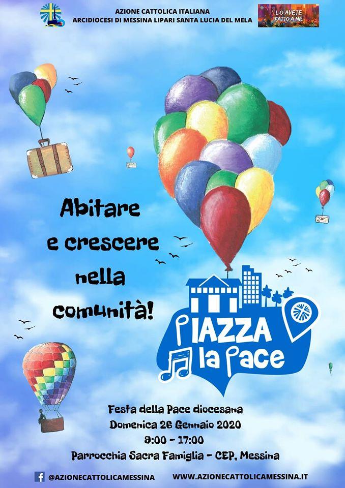 Manifesto festa della pace